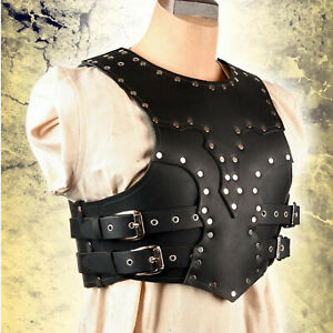 Necromancer Armour LARP costume leather costume Medieval outfit Leather dress