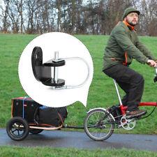 2PCS utile Bici Gancio di traino Linker Bicicletta Gancio di traino Attacco Adattatore