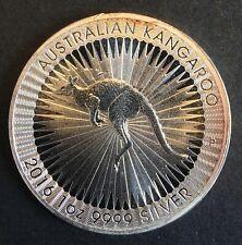 Australia - Silver 1 Dollar Coin - 1 Oz. - 'Australian Kangaroo' - 2016 - Proof