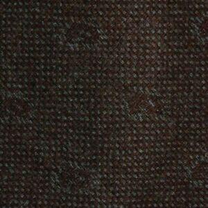 Skinny Brown Gray Wool Tie