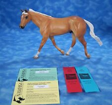 Walter Resin Traditional Scale Horse by Sheryl Leisure Change of Hart Palomino