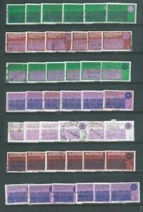 Australian lot 1 1971 Christmas 6 complete sets good condition (6101)