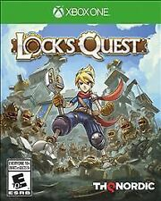 Lock's Quest (Microsoft Xbox One, 2017) Adult Owned Great Shape
