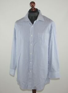 Lauren Ralph Lauren mens Slim Fit cotton shirt Size 17 1/2 32/33
