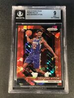 DEANDRE AYTON 2018 PANINI PRIZM #279 RED ICE CHROME REFRACTOR ROOKIE RC BGS 9