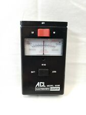 Acl Model 300B Electrostatic Locator (Untested) for parts
