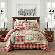 3Pc Quilt Bedspread Sets Bedding Coverlet Bedroom Floral Queen King Size, BY010
