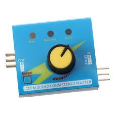 Servo Tester CCPM padrone di consistenza Checker 3CH 4.8-6V F4D9 L0C7