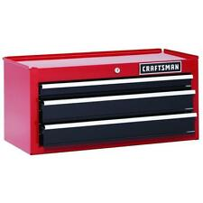 "Craftsman 26"" 3-Drawer Heavy-Duty Middle Chest - Red/Black - NEW IN BOX"