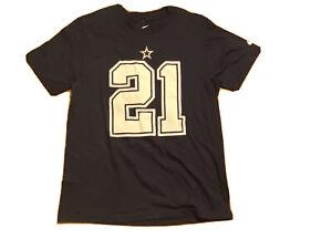 NIKE DALLAS COWBOYS NFL EZEKIEL ELLIOTT #21 YOUTH SHORT SLEEVE SHIRT LARGE