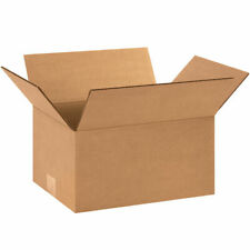 50 - 12 x 9 x 6 Corrugated Shipping Boxes Storage Cartons Moving Packing Box
