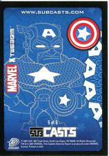 Marvel Masterpieces 2007 Subcast Chase Card #5 Captain America