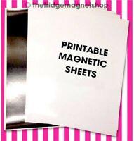 A4 Magnetic Photo Paper GLOSS/MATT Ink Jet Sheets Printable Sheets