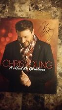 Chris Young  Hand Signed  8x10 Autograph Photo