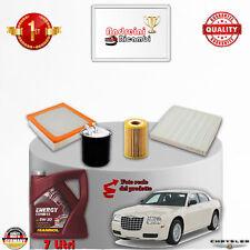 Kit Inspección Filtros + Aceite Chrysler 300C 3.0CRD 160KW 218CV De 2007 - >2012