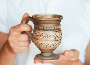 New Vintage Wooden Kitchen Espresso coffee mug Tiny mug Cup miniature Rock mug R