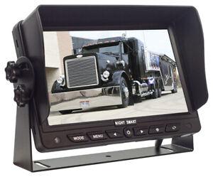 "7"" TFT LCD AHD Reversing Monitor with 3AV inputs & Auto dimming"