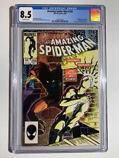 The Amazing Spider-Man #256 (Sep 1984, Marvel), CGC 8.5, Puma 1st Appearance