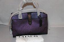 COACH Mercer Satchel 24 in Hologram Leather - Bag - 55622