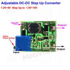 Mini Boost Step up Adjustable Converter USB 1.2V~6V to 1.5V~15V 3V 3.3V 9V 12V