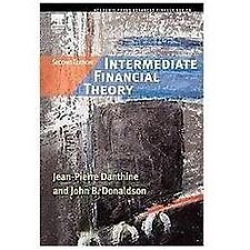 Intermediate Financial Theory, Second Edition (Academic Press Advanced Finance)