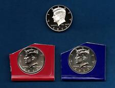 2013 P D S - BU AND CLAD PROOF Kennedy Half Dollar Update Set - Three Coins