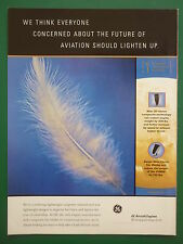 11/1999 PUB GENERAL ELECTRIC AIRCRAFT ENGINES SWEPT WIDE CHORD FAN BLADES CFM AD