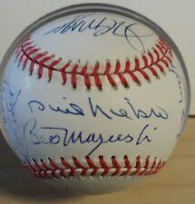 Multi Signed HOF Baseball (15) Puckett, Koufax, Gibson +++ MLB Authenticated