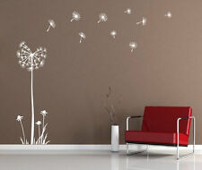 Huge Dandelion Flower Wall Stickers Decal stylish Room Sticker 180cm Height NEW