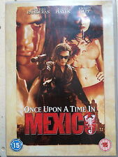 Antonio Banderas ONCE UPON A TIME IN MEXICO ~ Desperado Sequel | UK DVD