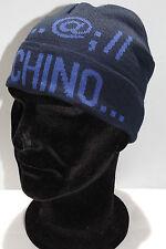 Cappello cuffia hat MOSCHINO art.01239 T.unica col.003 blu Italy