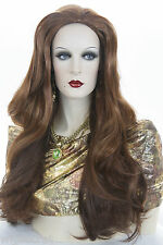 Gradual Red Copper-Paprika-Chestnut Red Long Skin Top Straight Wigs