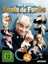 16 Louis DE FUNÈS Classics BALDUIN Louis BRUST KEULE Sause DVD Collection BOX