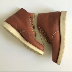 red wing 8166 Boots 9D Christy Wedge Sole