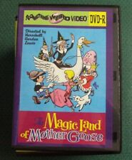 THE MAGIC LAND OF MOTHER GOOSE DVD-R NEW Something Weird H.G. Lewis cult