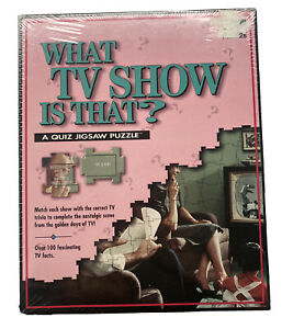 What Tv Show Is That? A Quiz Jigsaw Puzzle