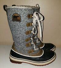 "Women's SOREL ""Tivoli"" Tall Boots Size 6 37.5 EUC"
