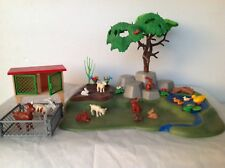 PLAYMOBIL JARDIN ANIMAUX ET CAGE.
