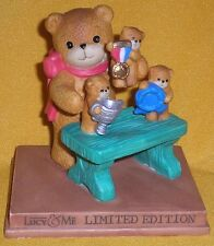 Porcelain Lucy Rigg & Me Limited Ed Prize Winning Teddy Bears Figurine 1994 Rare