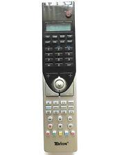 TEVION UNIVERSAL TV/DVD/SAT/VCR/CD/ASAT/DSAT/CBL/AUX REMOTE CONTROL MD81302