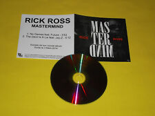 """CD 2 TITRES PROMO RICK ROSS """"NO GAMES"""" FEAT FUTURE """"THE DEVIL IS A LIE"""" FEAT JAY"""