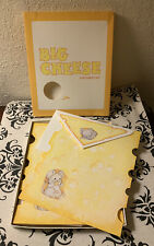 Big Cheese Mice vintage Stationery Letter Set Current used 1983