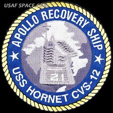 "APOLLO RECOVERY SHIP - USS HORNET CVS-12 - A HERITAGE OF EXCELLENCE  5"" PATCH"