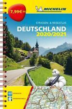 Michelin Kompaktatlas Deutschland 2020/2021 (Land-)Karte MICHELIN Atlanten 2019