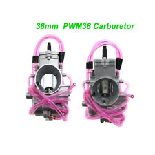 PWM 38mm Carburetor Carb For 125cc-250cc 2-Stroke Racing PWM38 Carb Scooter