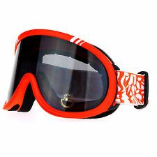 Snowboard Ski Sports Goggles Matte Frame Air Vent Anti-fog Double Lens