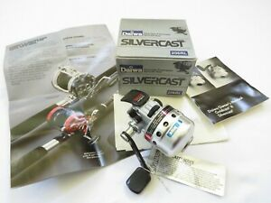 Daiwa Silvercast 206RL Spincasting Reel w/ Box and Papers