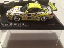 Minichamps 1.43 Scale Porsche 911 GT3 RSR 24h Le Mans Year 2006.