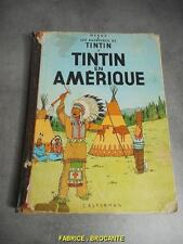 BANDE DESSINEE DE TINTIN EN AMERIQUE 1947