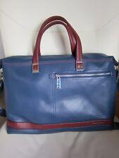 """Amanrsija Mens Genuine Leather Messenger Shoulder Bag 15"""" Laptop Briefcase NEW"""